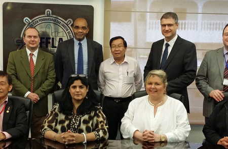 Humber trade mission meets with the Selangor Freight Forwarders Association, Malaysia