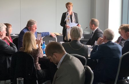 MP Emma Hardy speaks passionately on Hull & Humber issues at Chamber Expo 2019