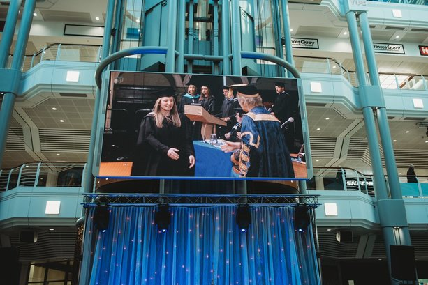 Shopping centre hosts celebration for Hull University 2019 graduates