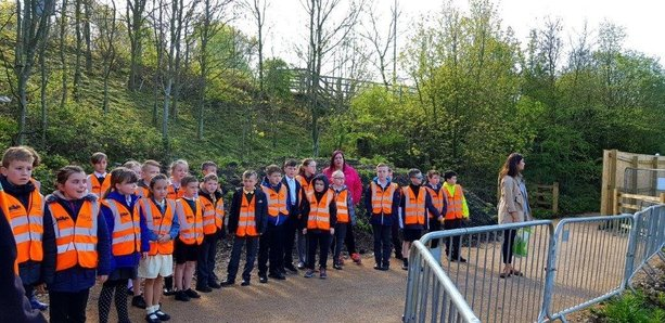 Hobson & Porter engages with school pupils as construction work hits halfway milestone