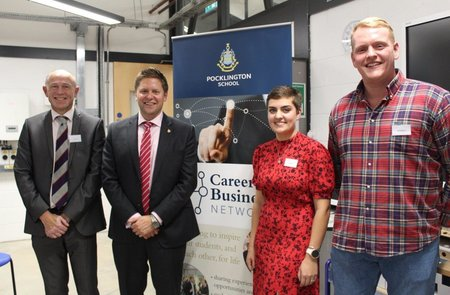 Creative entrepreneurs return to Pocklington School for Careers & Business Network event
