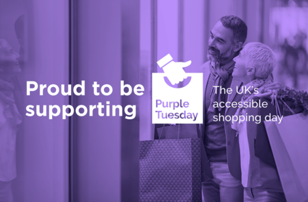 Princes Quay to turn purple, The Hull shopping centre is focused on changing the customer experience for disabled people.