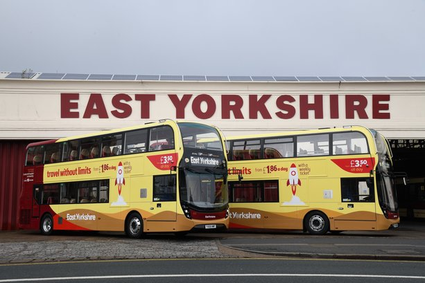 "New state-of-the-art ""talking buses"" hit the streets of Hull and East Yorkshire"