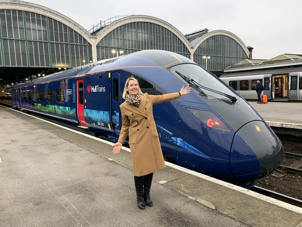 Chamber petitions Department for Transport to provide financial support for Hull Trains