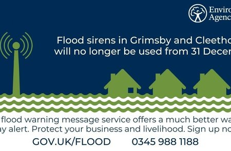 Grimsby and Cleethorpes flood sirens to be decommissioned