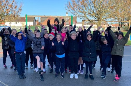 Run With It charity providing positivity to hundreds of school children