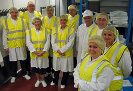 Chamber members get a taste of life on the factory floor