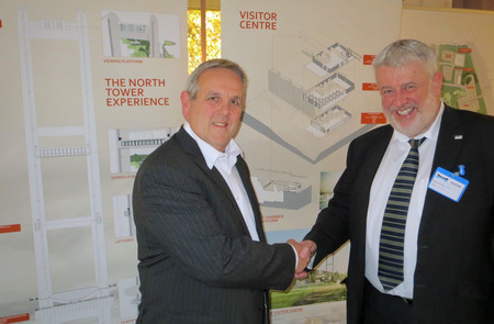 Strong Chamber backing for Humber Bridge Experience scheme