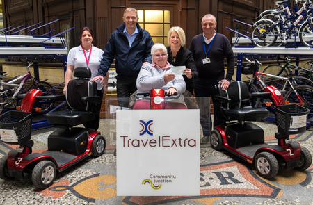 Sponsorship deal supports city centre accessibility for all