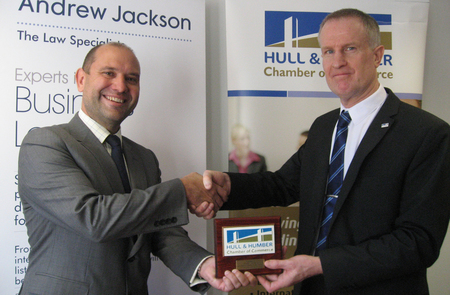Chamber Patrons Plaque for Andrew Jackson Solicitors