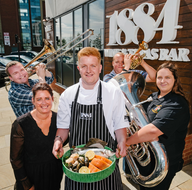 1884 Wine & Tapas trumpets its west side story at Humber Street Sesh