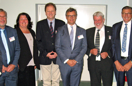 Full steam ahead for trade as Zeebrugge business leaders visit Humber to strengthen port links