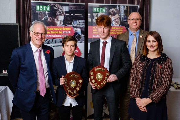 MPs impressed as HETA's young engineers collect awards
