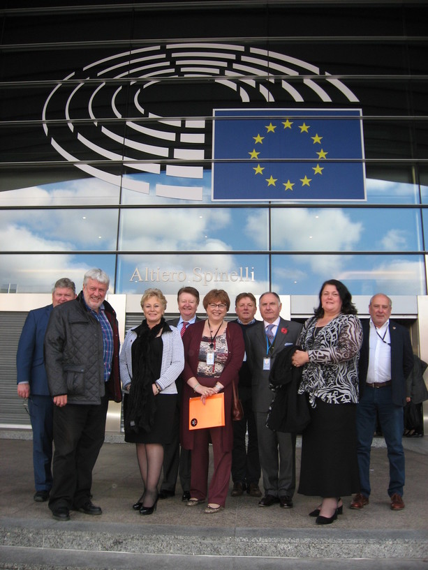 Brexit – A bird's-eye view from the Humber as Chamber visits European Parliament