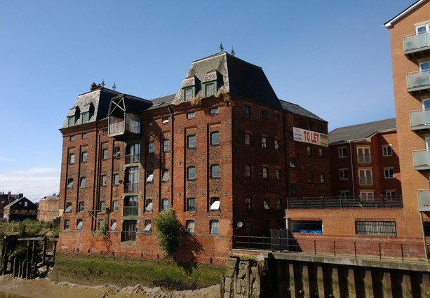 Refurbishment planned after sale of converted riverside warehouse