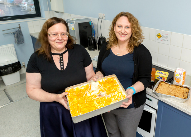 Businesses join forces to support soup kitchen cooking sessions with festive fundraiser