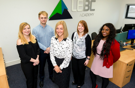 Financial services firm invests in training with launch of LEBC Academy