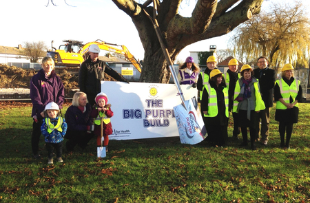 Unique 'Big Purple Build' project underway in Hull