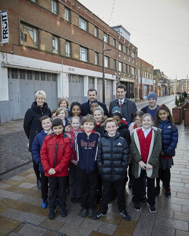 Fruit Market regeneration inspires schoolchildren to get creative