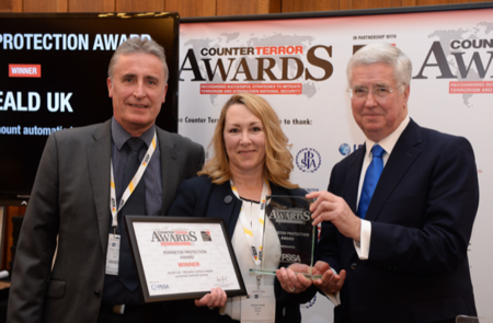 Hostile Vehicle Mitigation System wins double award