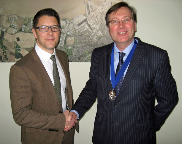 Chamber welcomes Mark as new Area Council chair