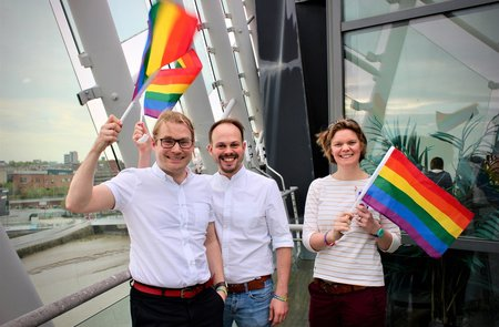 Businesses count the benefits of backing Pride in Hull