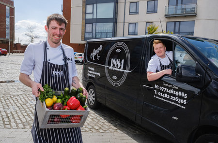Restaurant hits the road to meet demand for quality catering