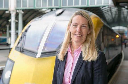 Louise is new Managing Director of Hull Trains