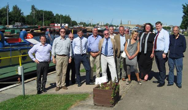 Chamber's Port of Goole tour has all the bells and whistles, thanks to ABP