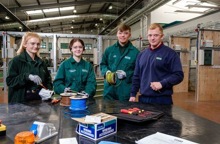 Apprentices take first steps in engineering in new £4.5 million facility