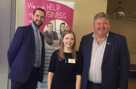 Legal eagles swoop to sponsor Chamber networking and lunch event