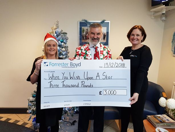 Christmas gift kickstarts 2019 fundraising for local children's charity