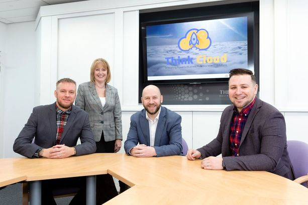 The sky's the limit as cloud technology specialists launch new venture