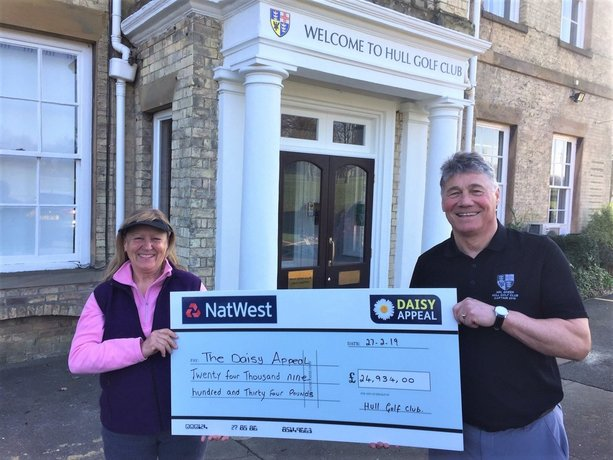 Golfers in drive to support Daisy Appeal