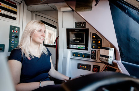 Hull Trains' ladies change track and qualify as train drivers
