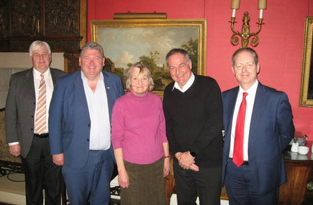 Chamber thanks distinguished Lord Lieutenant as Burton Agnes Hall hosts Bridlington members