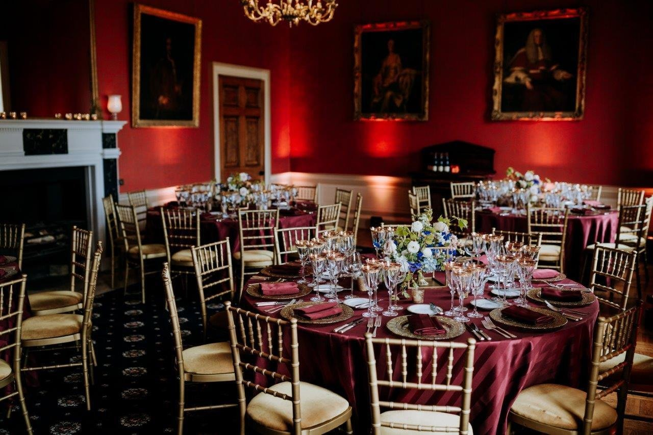 Rise Hall dining room